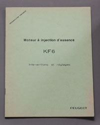 Peugeot Moteur A Injection D'Essence KF 6 Interventions et Reglages (B) - OCR.pdf