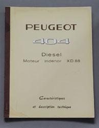 Peugeot 404 Diesel Moteur Indenor XD 88 - OCR.pdf