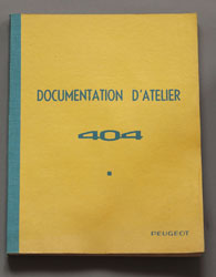 Peugeot 404 Documentation D'Atelier - OCR.pdf
