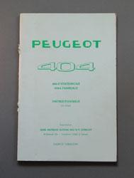Peugeot 404 Instructieboekje U Stationcar, L Familiale - OCR.pdf