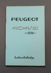 Peugeot 404-8 Instruktieboekje Confort 1500 - OCR.pdf