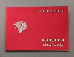 Peugeot 404 Instructieboekje U10-UXD (Frans, Duits, Nederlands, Italiaans) - OCR.pdf