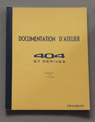 Peugeot 404 Documentation D'Atelier et Derives - OCR.pdf