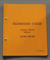 Peugeot 404 Diesel XD 88 Documentation D'Atelier - OCR.pdf